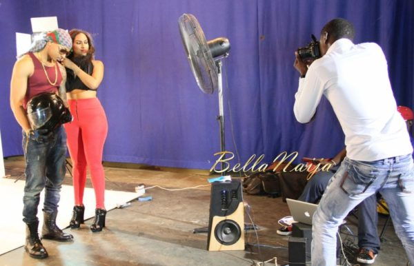 Juliet Ibrahim's Traffic Jam Video Shoot- January 2014 - BellaNaija - 024