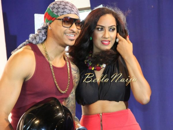 Juliet Ibrahim's Traffic Jam Video Shoot- January 2014 - BellaNaija - 025