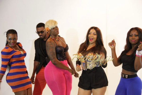 Juliet Ibrahim's Traffic Jam Video Shoot- January 2014 - BellaNaija - 027