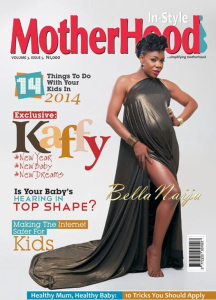 Kaffy Shafau-Ameh -Motherhood In-Style Magazine - January 2014 - BellaNaija 01