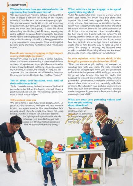 Kaffy Shafau-Ameh -Motherhood In-Style Magazine - January 2014 - BellaNaija 02