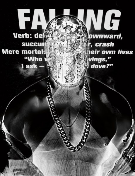 Kanye West's Bizarre Shoot for Interview Magazine - January 2014 - BellaNaija - 021
