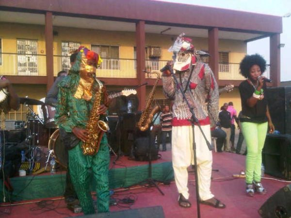 Lagbaja performs with Nigeria's Got Talent Winner Akorede Odukale - BellaNaija - January2014002