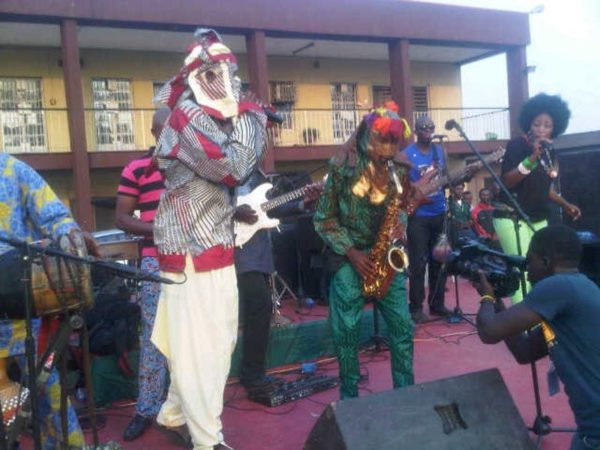 Lagbaja performs with Nigeria's Got Talent Winner Akorede Odukale - BellaNaija - January2014004
