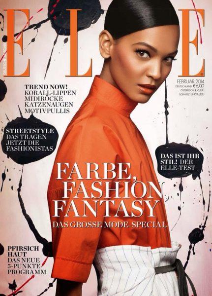Liya Kebede for Elle Germany - BellaNaija - January 2014