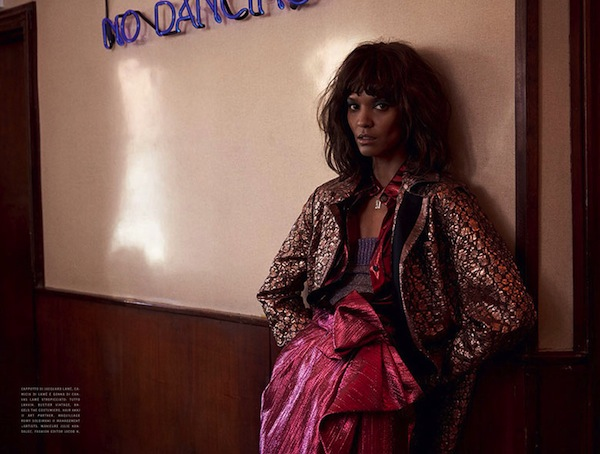 Liya Kebede for Vogue Italia January 2014 - BellaNaija - January 2014001