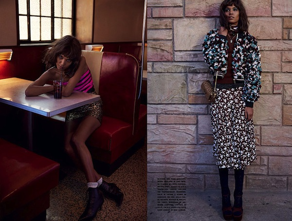 Liya Kebede for Vogue Italia January 2014 - BellaNaija - January 2014002