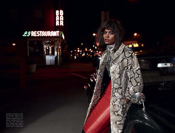 Liya Kebede for Vogue Italia January 2014 - BellaNaija - January 2014003