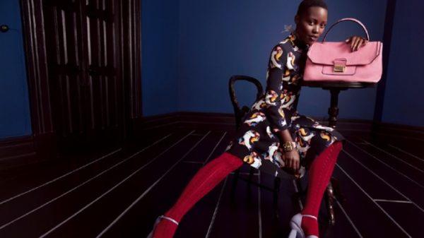 Lupita Nyong'o Miu Miu 2014 Ad Campaign  (1)