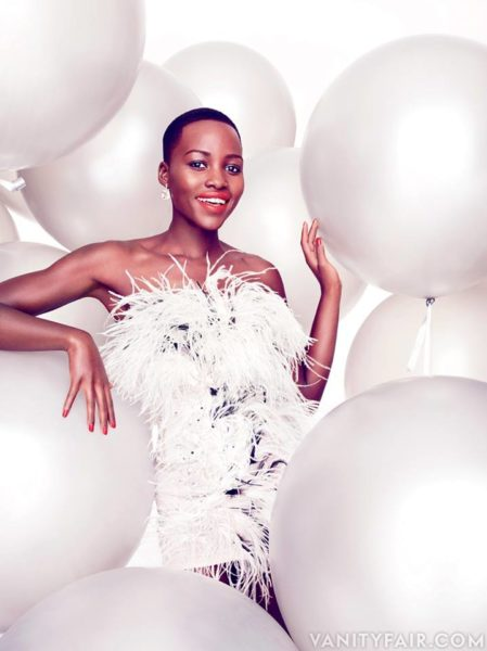Lupita Nyong'o - Vanity Fair Magazine - January 2014 - BellaNaija