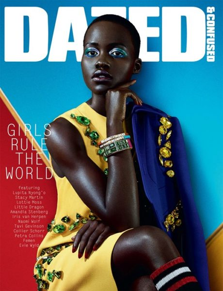 Lupita Nyong'o for Dazed & Confused Magazine February 2014 Issue (1)