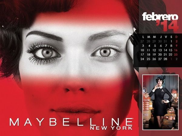 Maybelline 2014 Calendar - BellaNaija - January2014002