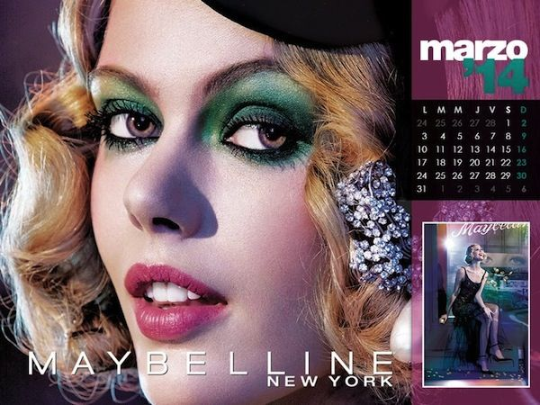 Maybelline 2014 Calendar - BellaNaija - January2014003
