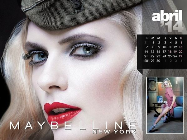 Maybelline 2014 Calendar  - BellaNaija - January2014004