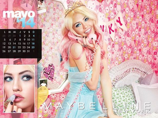 Maybelline 2014 Calendar  - BellaNaija - January2014005