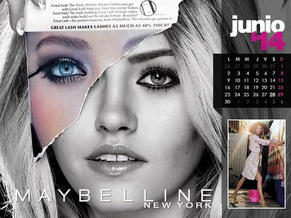 Maybelline 2014 Calendar  - BellaNaija - January2014006