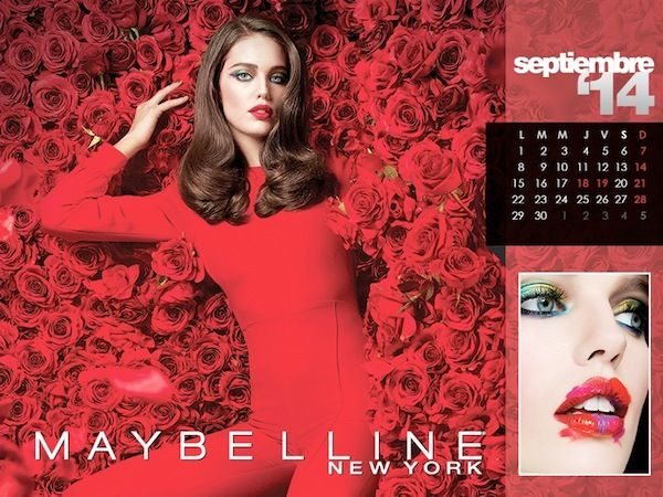 Maybelline 2014 Calendar - BellaNaija - January2014012