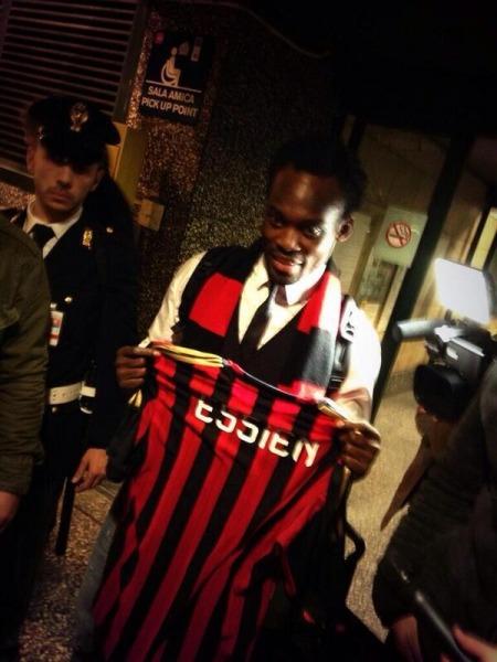 Michael Essien - January 2014 - AC Milan - BellaNaija 02