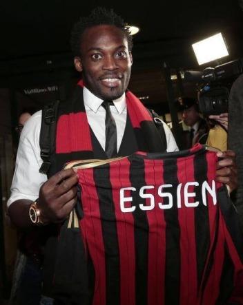 Michael Essien - January 2014 - AC Milan - BellaNaija