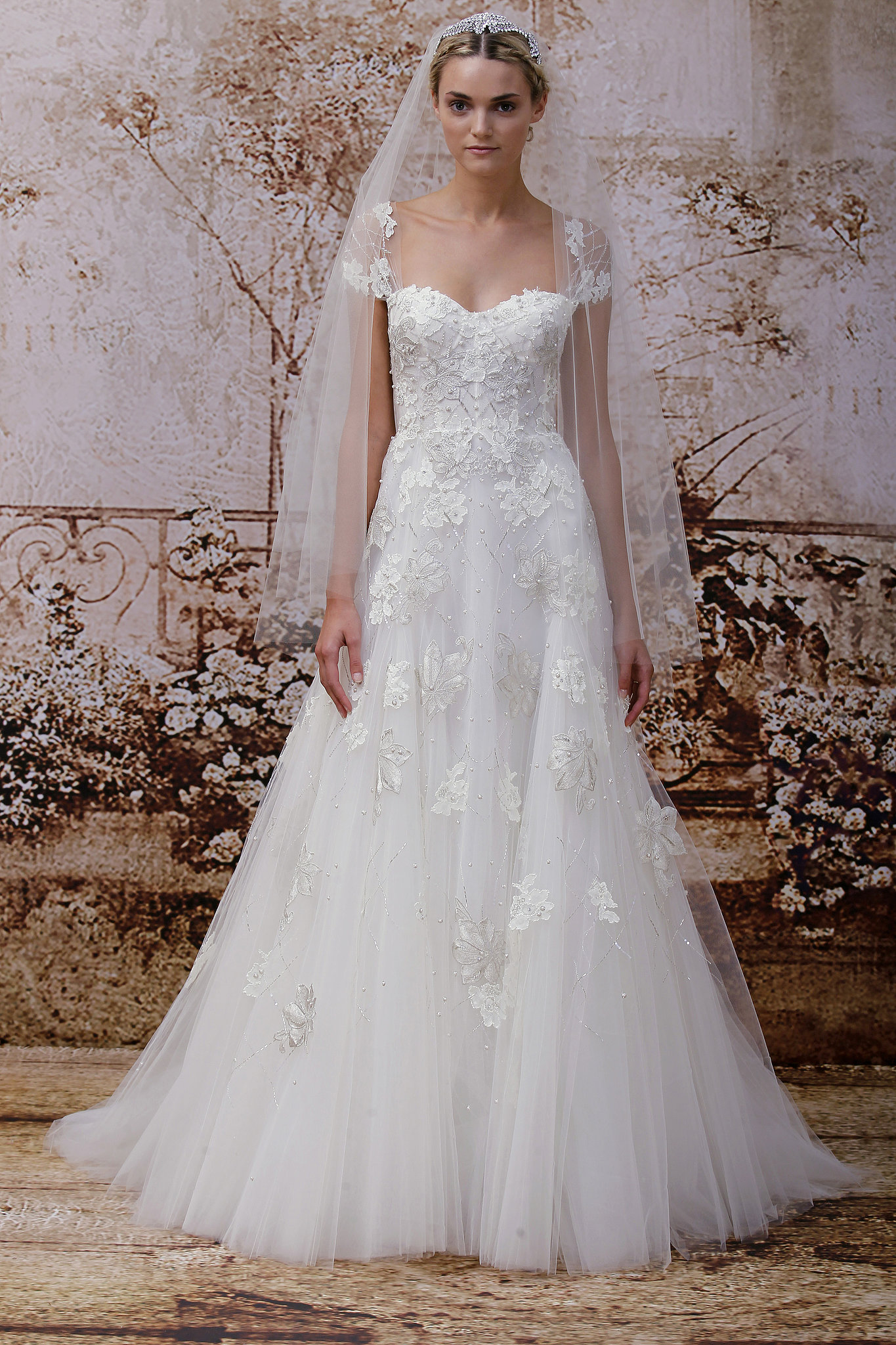 Bn bridal monique lhuillier fall 2014 collection for Monique lhuillier bridal designers