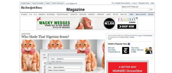 Nigerian Internet Scam - January 2014 - BellaNaija