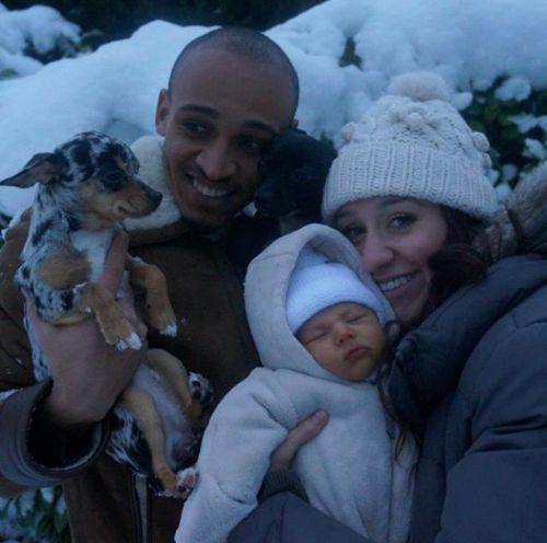 Osaze, Sarah & Noah - January 2014 - BellaNaija