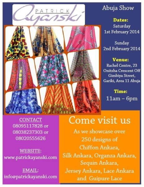 Patrick-Ayanski-Abuja-Show-BellaNaija-January-2014-463x600