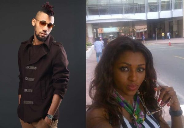 Phyno & Rita Edmond - January 2014 - BellaNaija