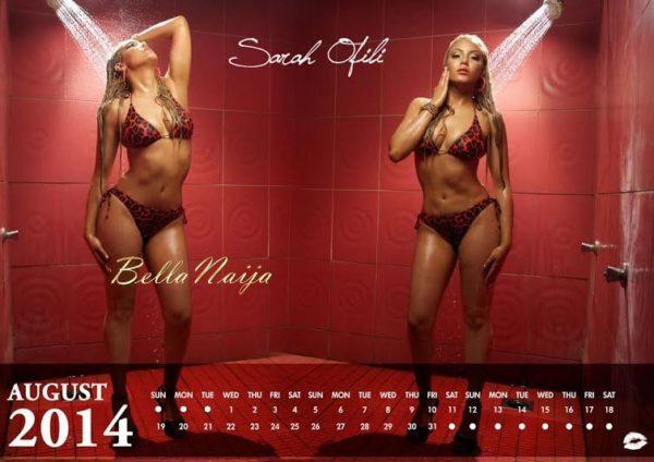 Sarah Ofili's 2014 Calendar - January 2014 - BellaNaija 01
