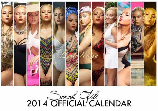 Sarah Ofili's 2014 Calendar - January 2014 - BellaNaija 02