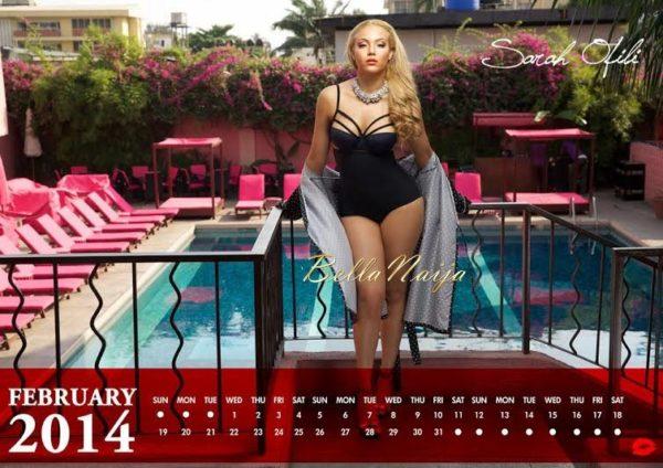 Sarah Ofili's 2014 Calendar - January 2014 - BellaNaija 04