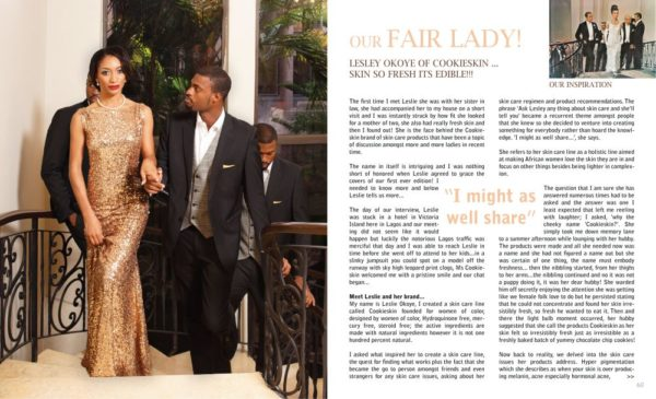 Savvy & Chic Hair & Beauty Hub Magazine - BellaNaija - January2014001 (5)