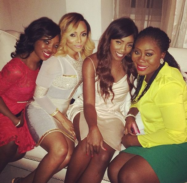 Toke Makinwa & Maje Ayida's Dinner Party - January 2014 - BellaNaija 06