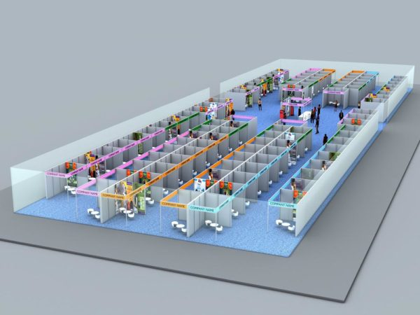 WED Expo 3D View 2
