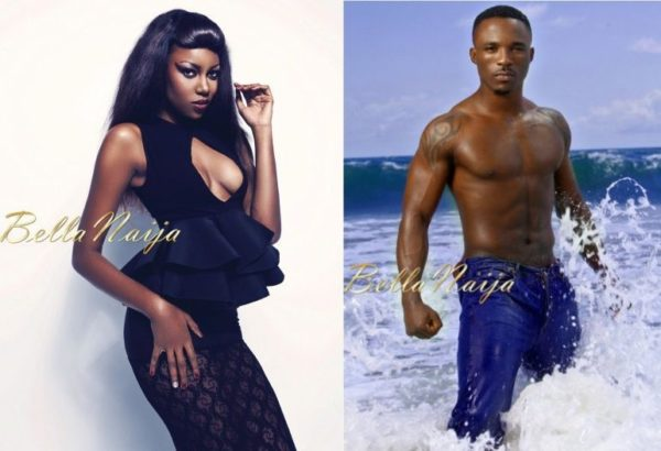 Yvonne Nelson & Iyanya - January 2014 - BellaNaija 01