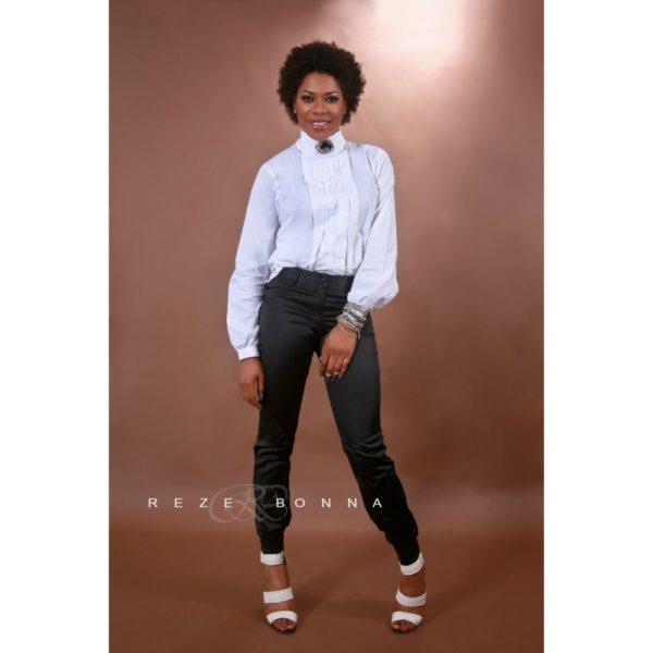 Yvonne Nwosu on White Shirt - January 2014 - BellaNaija - 021