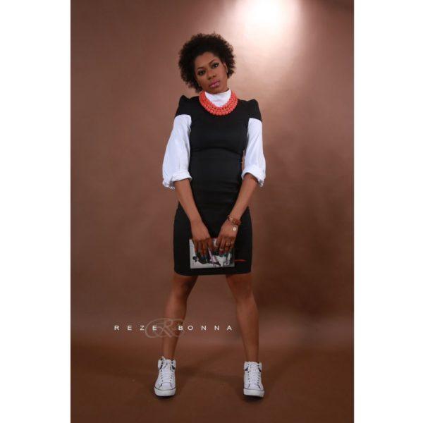 Yvonne Nwosu on White Shirt - January 2014 - BellaNaija - 023