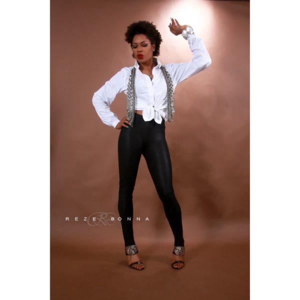 Yvonne Nwosu on White Shirt - January 2014 - BellaNaija - 024