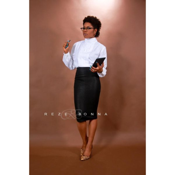Yvonne Nwosu on White Shirt - January 2014 - BellaNaija - 025