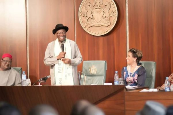 AGN visits President Jonathan at the State House, Abuja - February 2014 - BellaNaija - 041