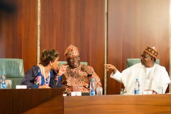 AGN visits President Jonathan at the State House, Abuja - February 2014 - BellaNaija - 062