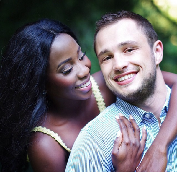 Adanna David cute couple interracial love