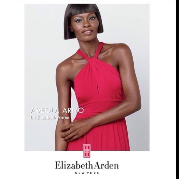 Adeola Ariyo for Elizabeth Arden Africa Ambassador - BellaNaija - February 2014