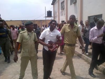 Akolade Arowolo in Court - February 2014 - BellaNaija