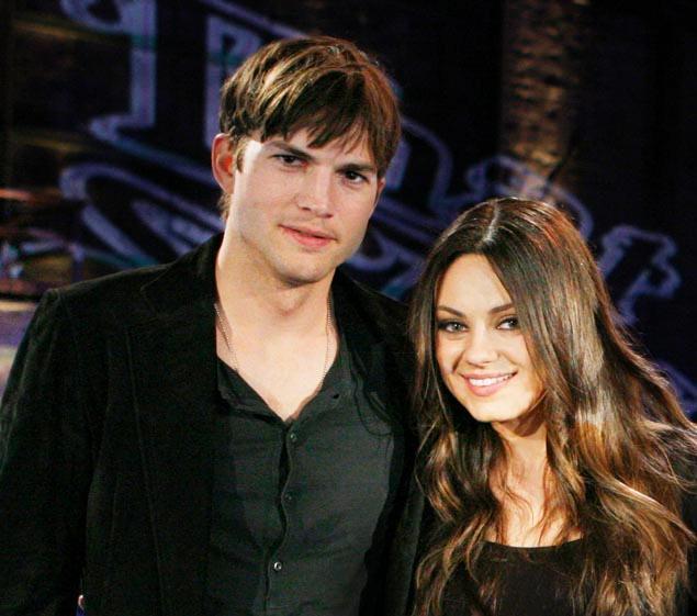 Ashton Kutcher & Mila Kunis - February 2014 - BellaNaija