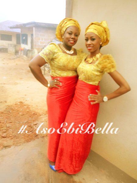 Aso Ebi, Aso Ebi Bella,Ezinne and Nnena Udonsi