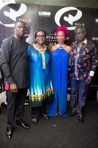 Asue & ifeyinwa Ighodalo with Mr & Mrs Philip Oduoza