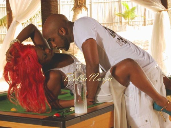 Banky W & Lil Miss Miss - Temptation - February 2014 - BellaNaija - 021