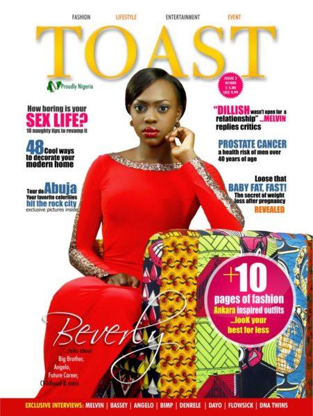 Beverly Osu - Toast Magazine - January 2014 - BellaNaija 01