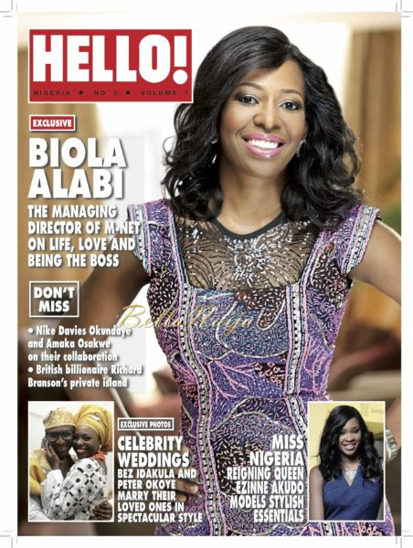 Biola Alabi - Hello Nigeria Magazine - February 2014 - BellaNaija 01